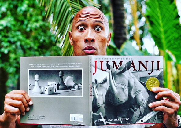 dwayne-johnson-jumanji-book
