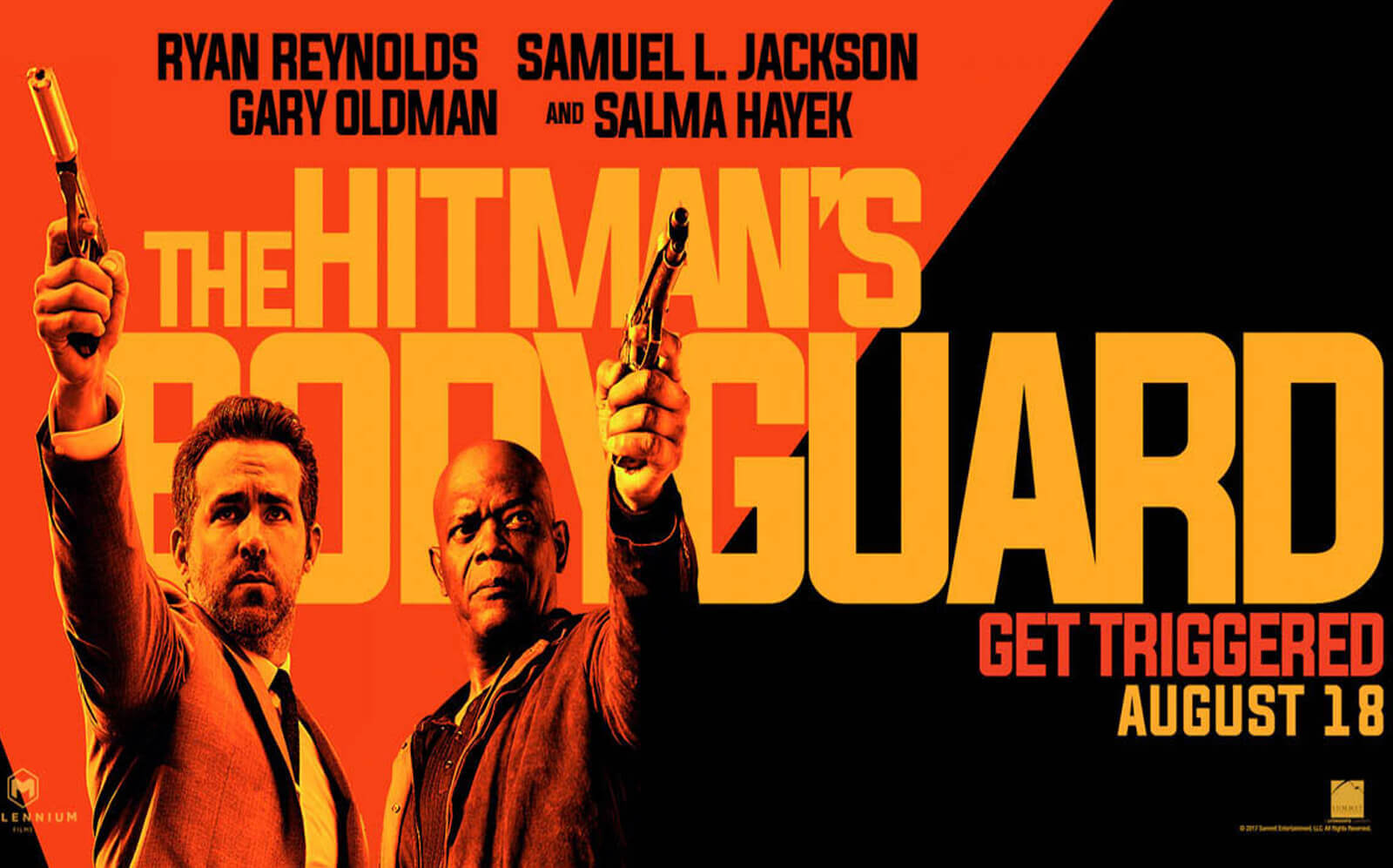 Reynolds And Jackson To Return In Hitman's Bodyguard 2.