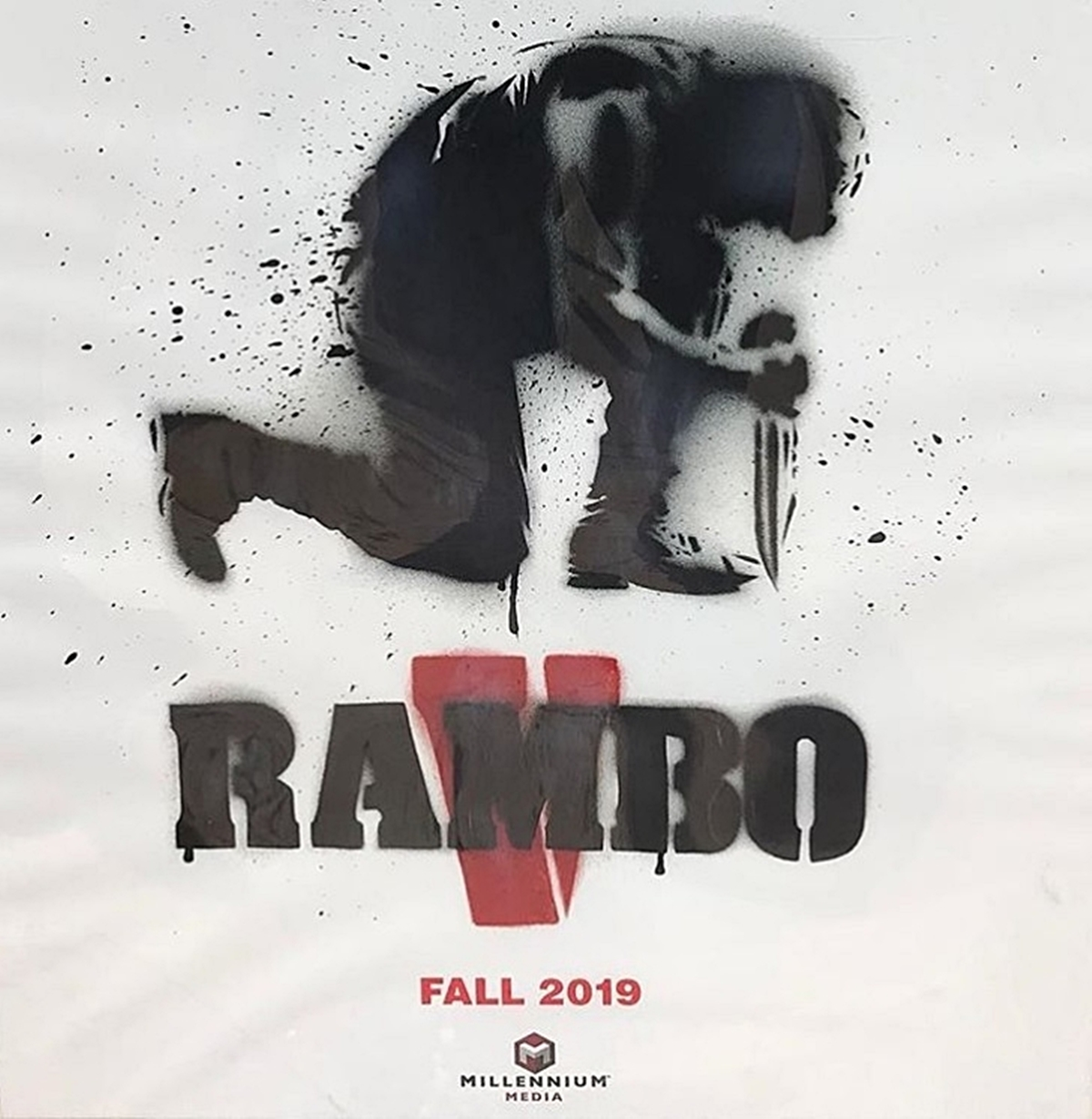 Stallone Finishes Final Day On Final Rambo Movie.