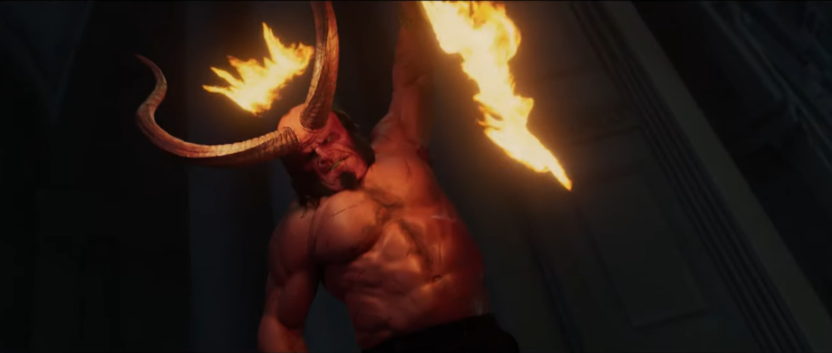 New HELLBOY Trailer Is Full Of Blood & Swears.