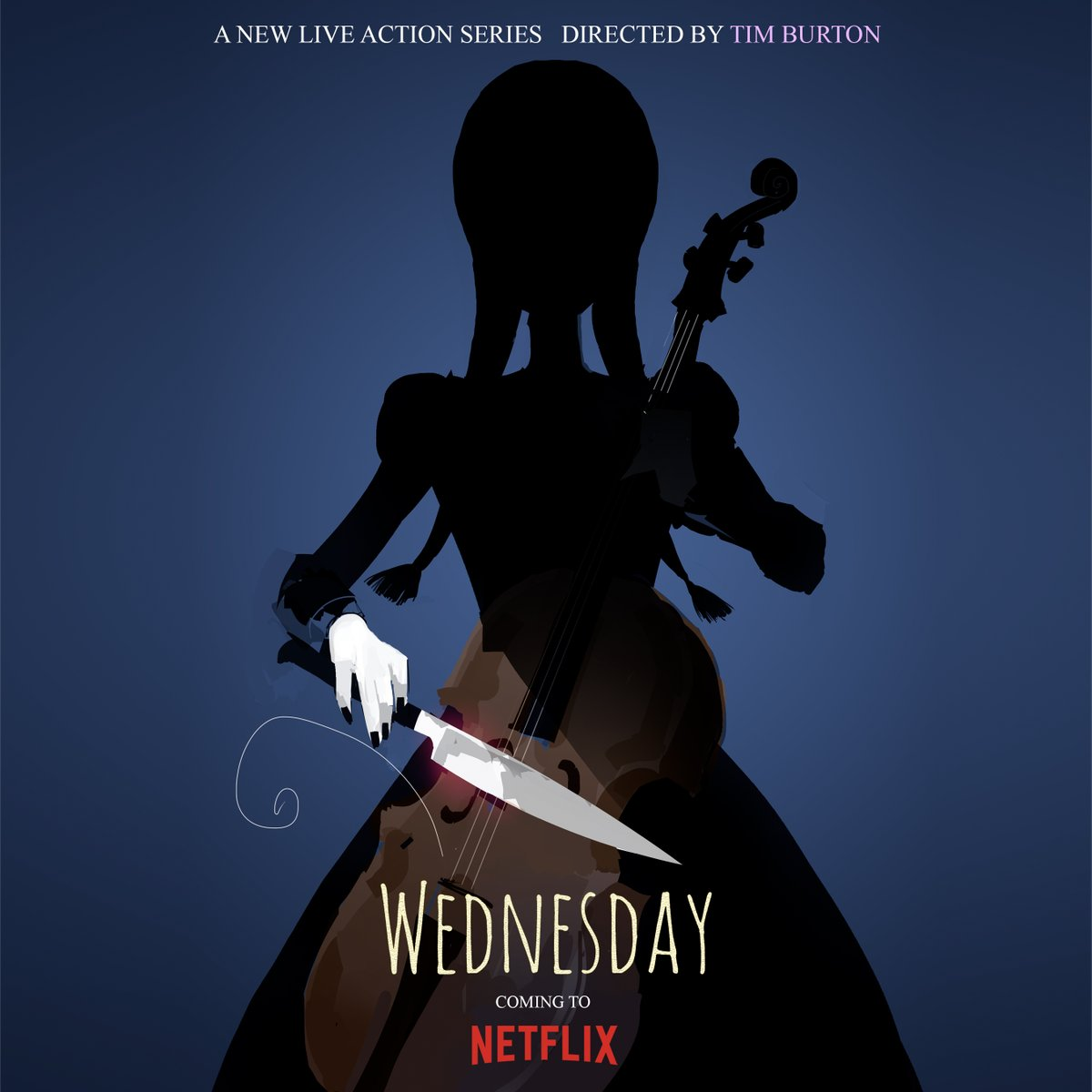 Tim Burton's Rebooting Wednesday For Netflix.